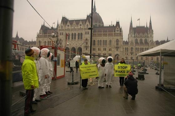 Fotó: Facebook / Greenpeace Hungary